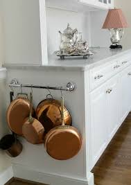 Kitchen Storage Ideas For Small Spaces Best 25 Pan Storage Ideas On Pinterest Pan Organization