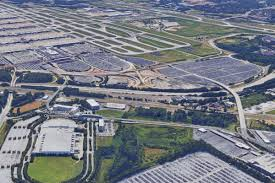 Atlanta Georgia Airport Map by With Bmw Facility Onboard Airport U0027s Draw For New Southside