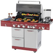 Backyard Grill 5 Burner Gas Grill by Kenmore 720 0650a 5 Burner Gas Grill With Back Burner And