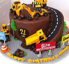 construction cake ideas vm cakes 01 construction site birthday pinteres
