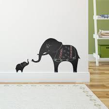 Elephant Wall Decals For Nursery by 52 Elephant Wall Decal Wall Decals Elephant Indian Pattern Yoga