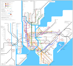 Queens Subway Map by Jfk Subway Map My Blog