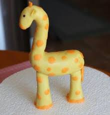 giraffe cake topper giraffe modeling chocolate tutorial learn how