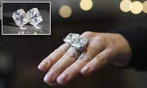 world s most expensive earrings world s largest and most expensive ring gets a security guard