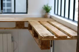 table de cuisine en palette fabriquer une table haute de cuisine awesome cuisine fabriquer