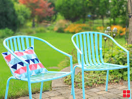 Turquoise Patio Chairs Diy Turquoise Patio Chairs