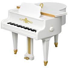 hark the herald sing piano ornament keepsake