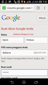 Membuat Gmail Dari Hp   cara mudah membuat email di hp android
