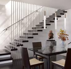 modern minimalist and blacj asian style stairs can be