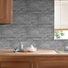 graham u0026 brown gray new brick removable wallpaper 33 071 the