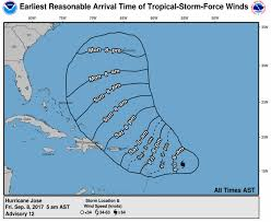 T Map Boston by Hurricane Jose Strengthens To Category 4 Following Irma The