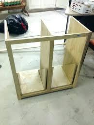 built in trash can cabinet tilt out trash can cabinet built in trash can cabinet wood kitchen