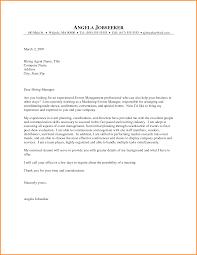 cover letter for marketing position entry level entry level job