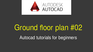 architect how to draw ground floor plan 02 youtube