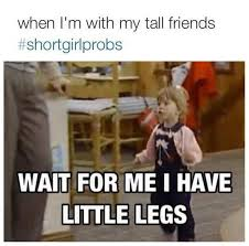 Funny Short Memes - short people problems
