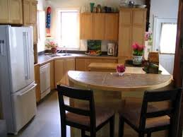 uniting island with countertops in small l shaped kitchen u2014 smith