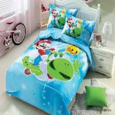 Minecraft Twin Comforter Cartoon Mermaid Bedding Set For Kid Gift 4pcs Minions