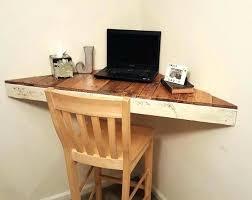 Corner Wood Desk Modern Corner Bookshelf Corner Table With Shelves Floating Corner