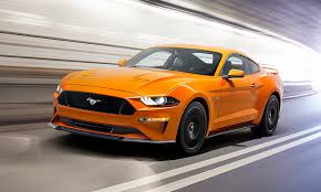 mustang design ford unveils all redesigned 2018 mustang