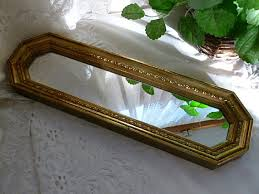 home interior mirrors vintage 1970s home interior mirror burwood syroco wall hanging