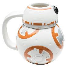 Designer Coffee Mug Online by Amazon Com Zak Designs Sculpted Ceramic Mug In Shape Of Bb 8