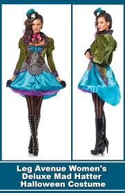 leg avenue women u0027s deluxe mad hatter costume