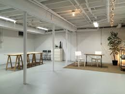 marvellous inspiration semi finished basement art studio in semi