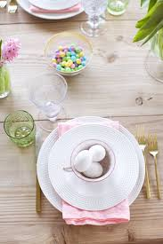 The Chew Easter Table Decorations by Easter Sunday U2026 Pink Peonies By Rach Parcell