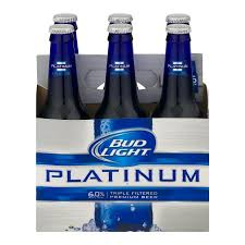 bud light platinum price bud light platinum 6 ct12 0 fl oz walmart com
