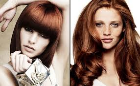 hairstyles for women red hair color long haircuts nice medium