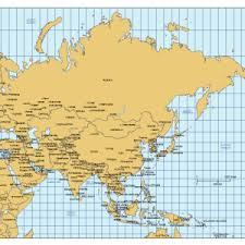 asia map with labels continent world region maps maps for powerpoint