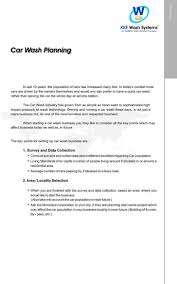 Template For A Business Plan Free Download Car Wash Business Plan Templates Download Free Premium