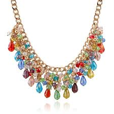 unique charm aliexpress buy 2017 fashion statement necklace for women