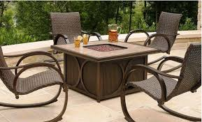 Fire Pit Tables And Chairs Sets - fire pit table and chairs set costco home fireplaces firepits