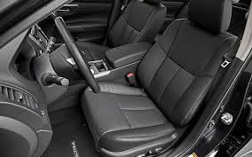 nissan altima interior backseat 2013 nissan altima 2 5 sl first test motor trend