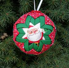 happier than a pig in mud quilted team ornaments