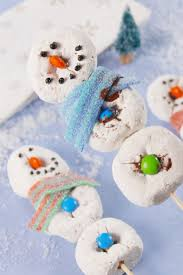 21 snowman themed desserts cute sweets with snowmen u2014delish com