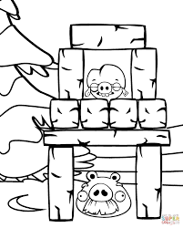 foreman and corporal pig printable coloring page cartoon print