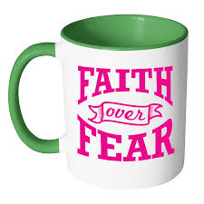 religious gifts faith fear christian jesus religious gifts 11oz 7color coffee