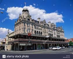 shamrock hotel bendigo victoria australia stock photo royalty