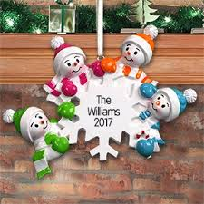personalized family ornaments giftsforyounow
