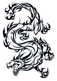 tribal dragon tattoo temporary tattoo tribal dragon t4aw