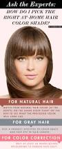 Hair Color To Cover Gray How To Pick The Right At Home Hair Color Shade Makeup Com