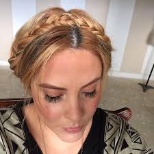 braided headband braided headband updo how to style a crown braid beauty on cut