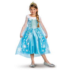disney frozen deluxe elsa toddler child costume buycostumes com