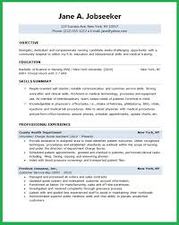 Sample Resume Nurses by Resume For Students Sample College Resume Template For High