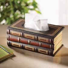 bibliophile u0027s tissue dispenser furniture home decor and home
