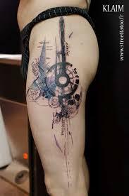 graphic tattoo design on leg ink tattoo designs pinterest