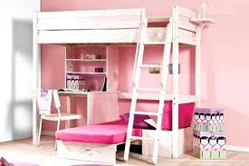 girls loft bed with a desk and vanity girls loft bed with desk underneath full size of space saving loft