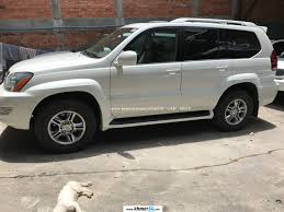 lexus sports car 2003 lexus gx 470 2003 white full option dvd new arrival in phnom penh